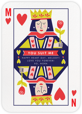 Well-Suited (Hers and Hers) - Fair - Cheree Berry Paper & Design - Valentine's Day Cards