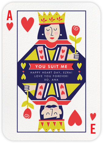 Well-Suited (His and Hers) - Fair - Cheree Berry - Valentine's Day Cards