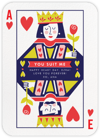 Well-Suited (His and Hers) - Cheree Berry - Valentine's day cards