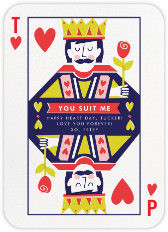 Well-Suited (His and His) - Cheree Berry - Valentine's day cards