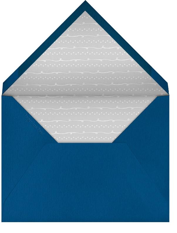 Classic Menorah - Paperless Post - Hanukkah - envelope back