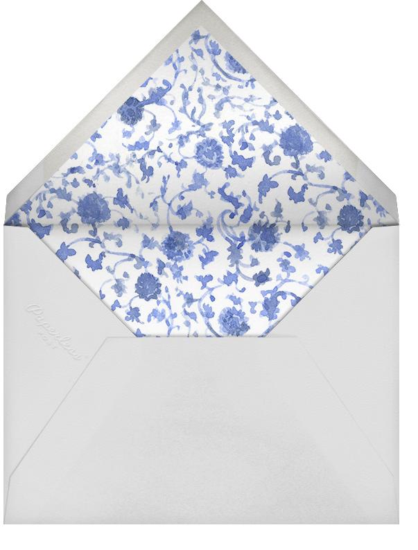 High Tea - Pink - Paperless Post - Bridal shower - envelope back
