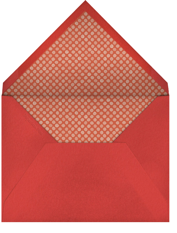 Tis the Season for Candy Cane Letters - Paperless Post - Envelope