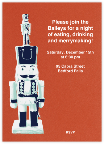 The Nutcracker Prince - Paperless Post - Invitations