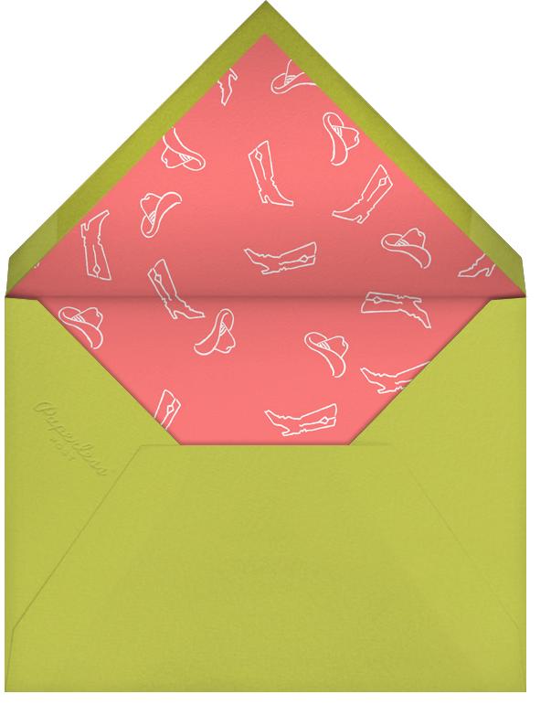 Vegas Bachelorette Party - White - Paperless Post - Bachelorette party - envelope back
