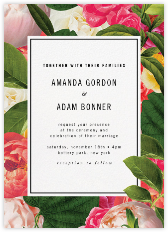 Lanai Floral (Invitation) - kate spade new york - Destination wedding invitations