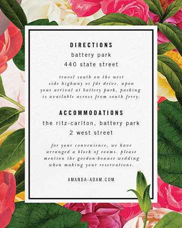 Lanai Floral (Invitation) - kate spade new york - All - insert front