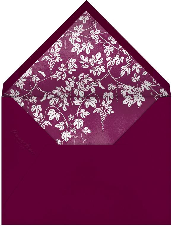 Vineyard II (Invitation) - Merlot - Paperless Post - All - envelope back