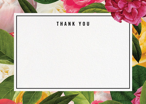 Lanai Floral (Stationery) - kate spade new york - Kate Spade invitations, save the dates, and cards