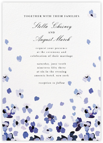 Faial (Invitation) - kate spade new york - Online Wedding Invitations
