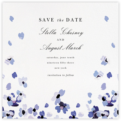Faial (Save the Date) - kate spade new york - Save the dates