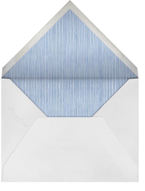 Sevre - Dark Blue and Spring Rain - Paperless Post - Hanukkah - envelope back