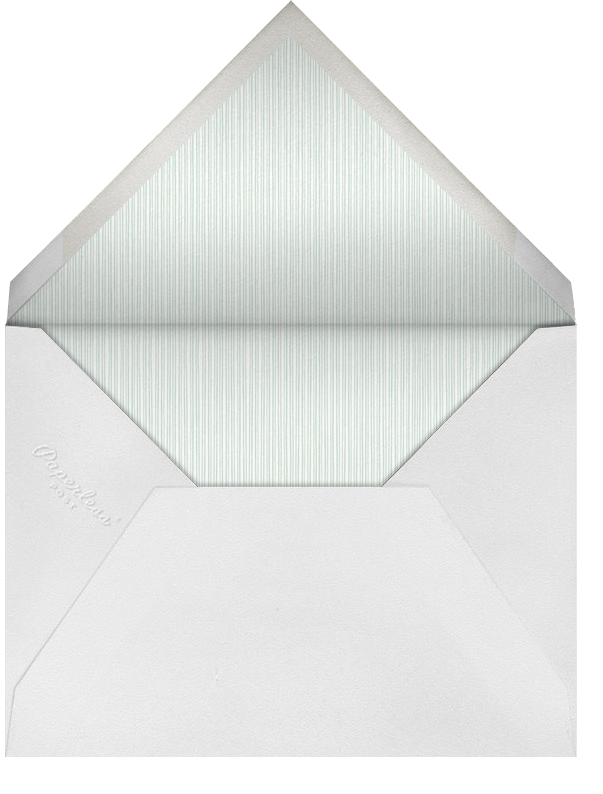 Peace on Earth - Paperless Post - Envelope