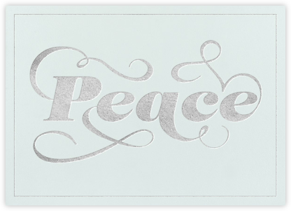 Peace on Earth - Paperless Post - Holiday Cards