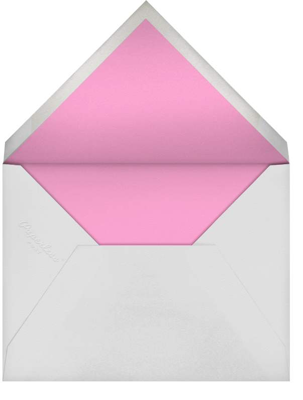 Forsythia - Pink - Paperless Post - Save the date - envelope back