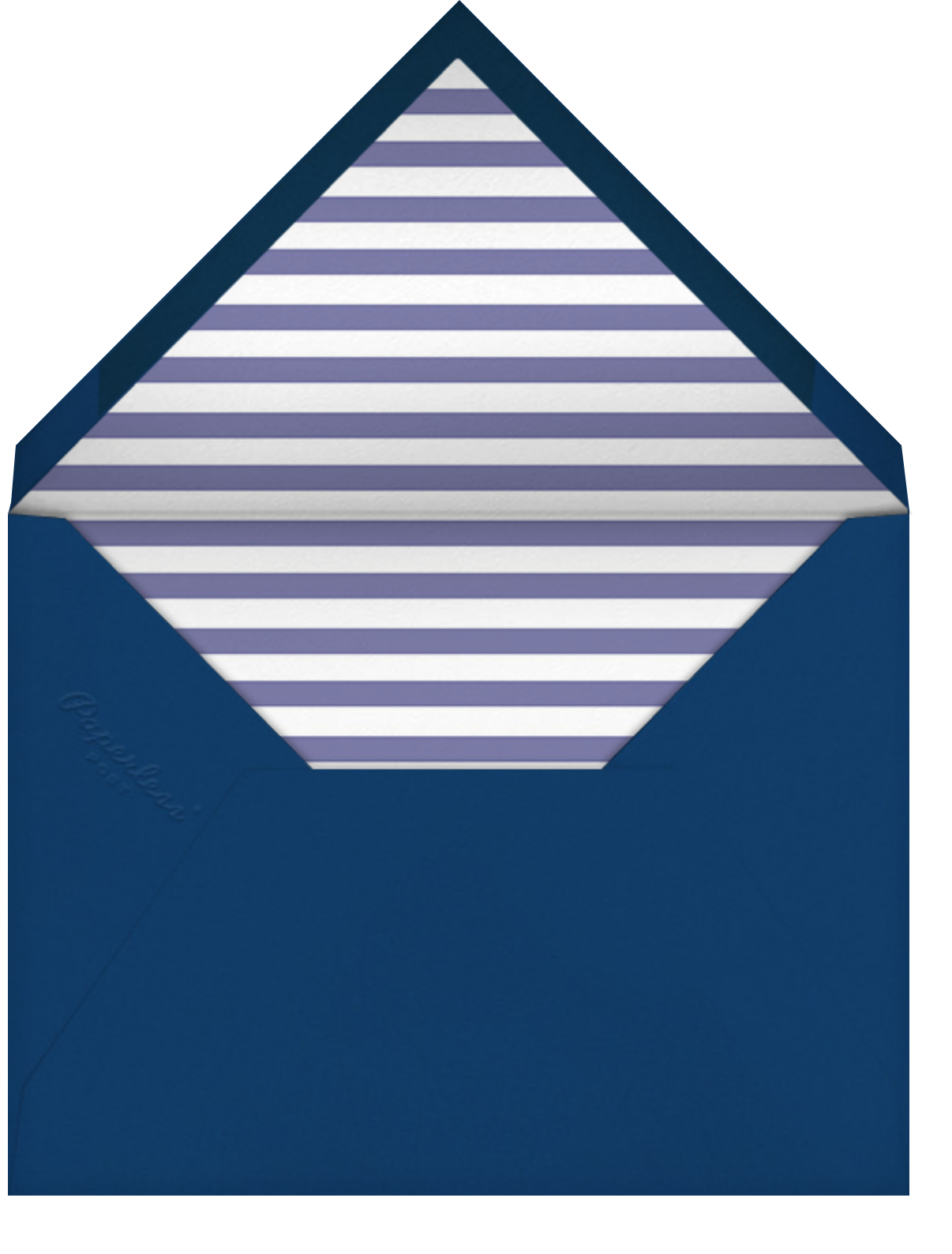 Carnaby - Blue - Paperless Post - Adult birthday - envelope back