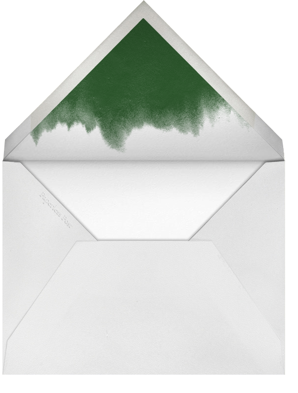 Oak - green - Paperless Post - Thanksgiving - envelope back