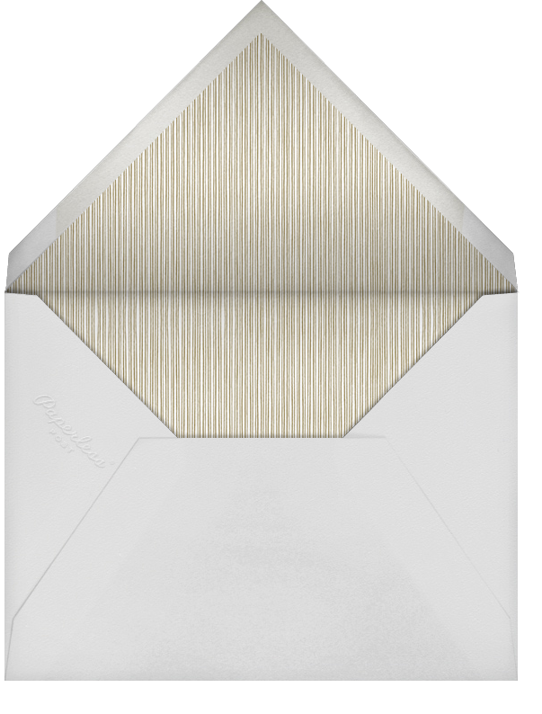 Winter Pine - Sepia - Paperless Post - Christmas party - envelope back