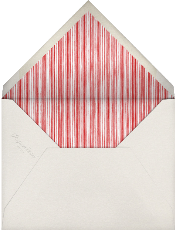 Winter Pine - Red - Paperless Post - Business holiday cards - envelope back