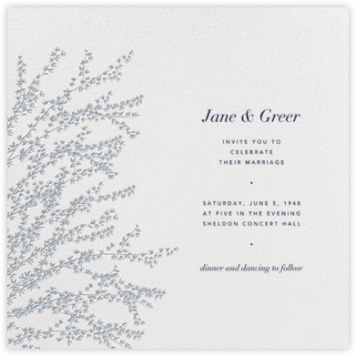 Forsythia - Pacific - Paperless Post - Wedding Invitations