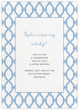 Lady Bexborough - Spring Rain - Paperless Post - Celebration invitations