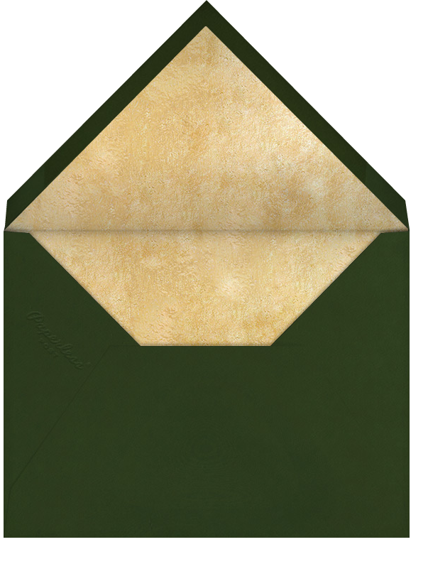 Spruce (Square) - Paperless Post - Envelope