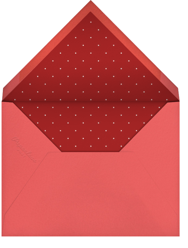 A Party About Love - Paperless Post - Valentine's Day - envelope back