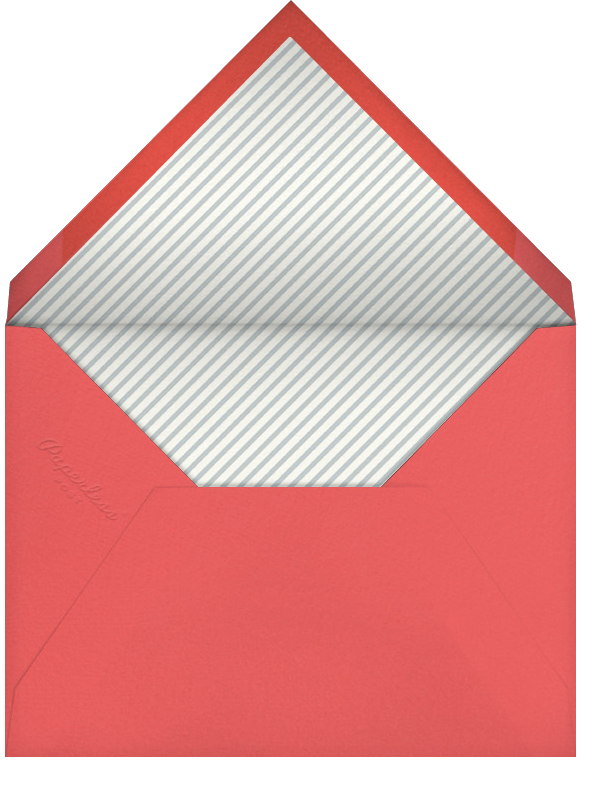 Tunnel of Love - Paperless Post - Valentine's Day - envelope back