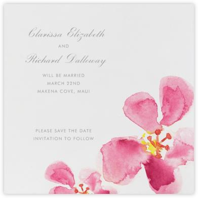 Hawaiian Flower - Paperless Post -
