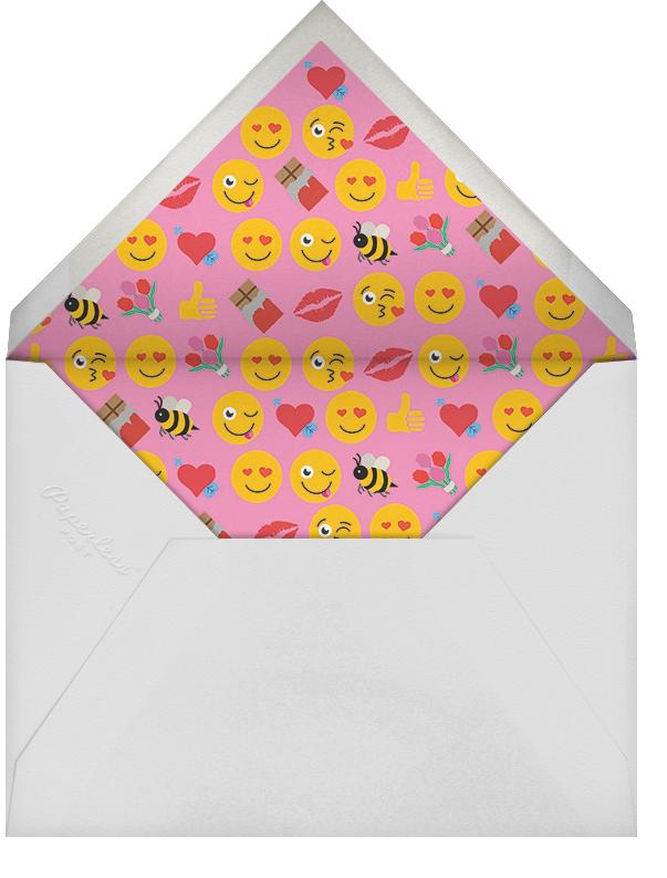 #BEMINE (Greeting) - Cheree Berry - Valentine's Day - envelope back