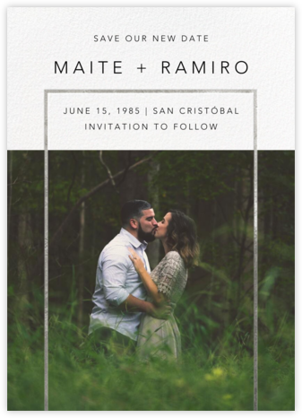 Truitt - Silver - Paperless Post - Photo save the dates