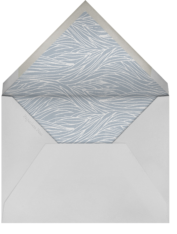 Pacific - Paperless Post - Anniversary party - envelope back