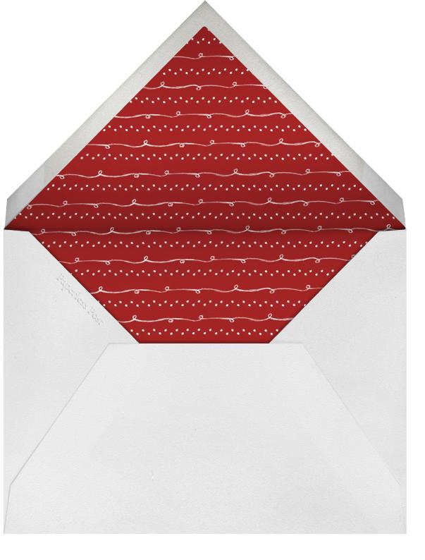 Reindeer Gala (Sapling) - Paperless Post - Envelope