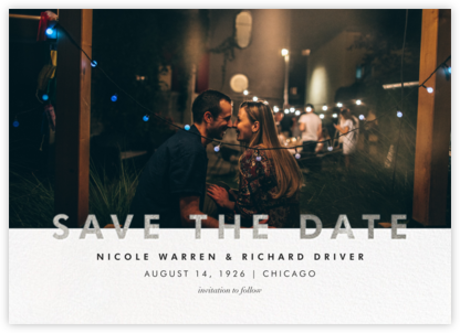 Talbot - Silver - Paperless Post - Save the dates