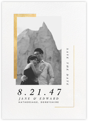 Ando (Photo Save the Date) - Gold
