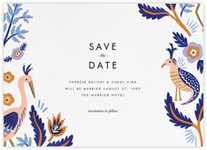 Heron Heralds (Save the Date) - White