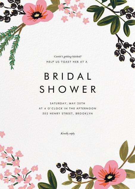 March Herbarium - Rifle Paper Co. - Bridal shower invitations