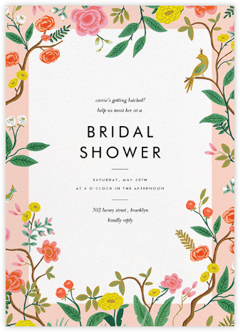 Shanghai Garden - Rifle Paper Co. - Bridal shower invitations