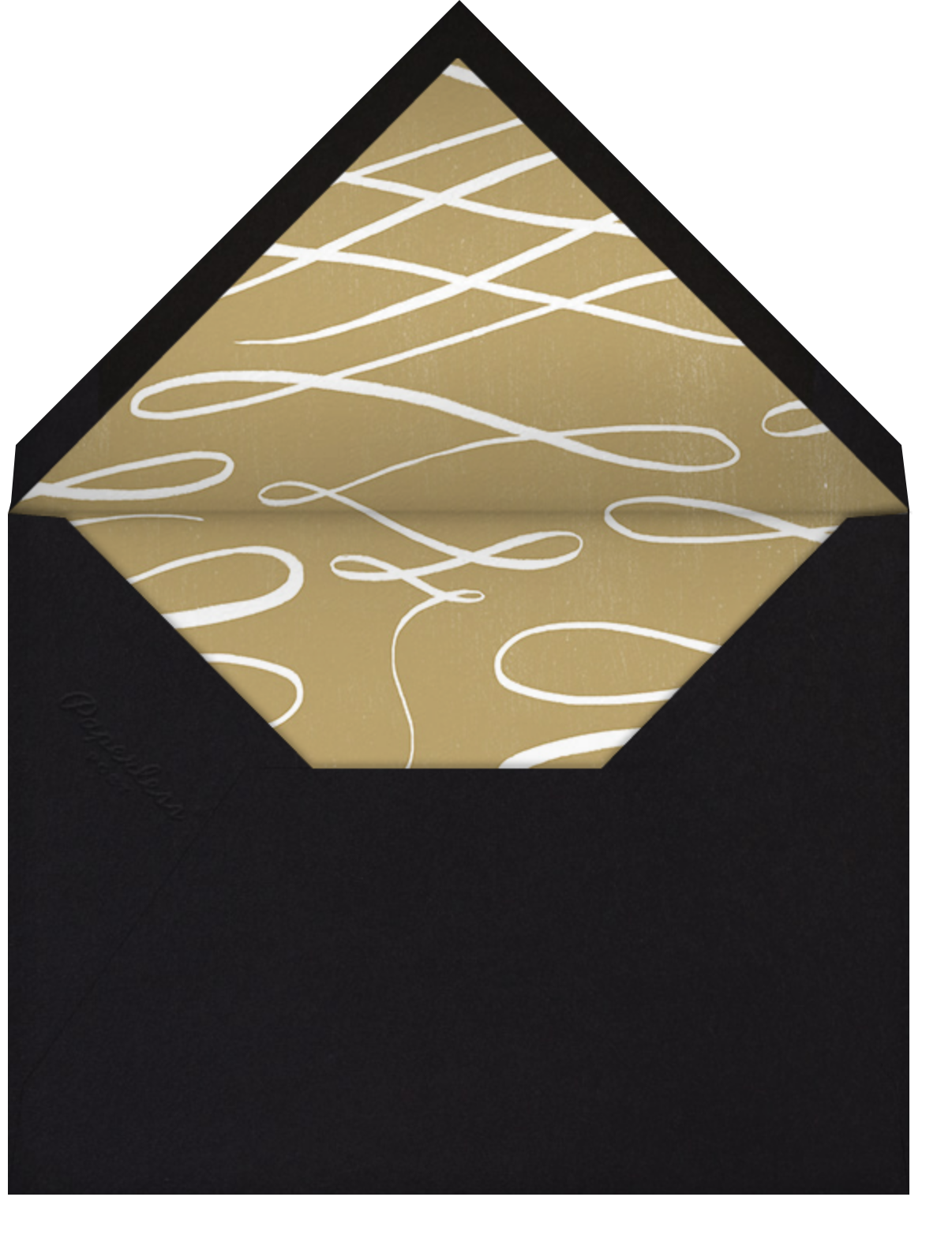 Contorno - Black - Paperless Post - All - envelope back