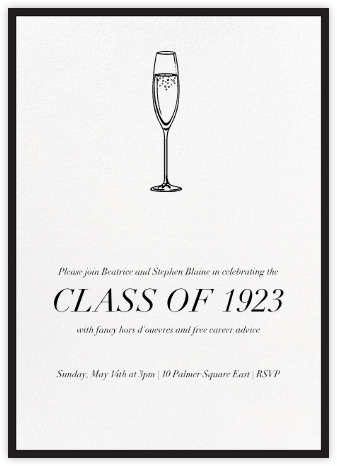 Contorno - Black - Paperless Post - Celebration invitations