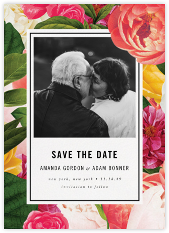 Lanai Floral (Save the Date) - kate spade new york - kate spade new york