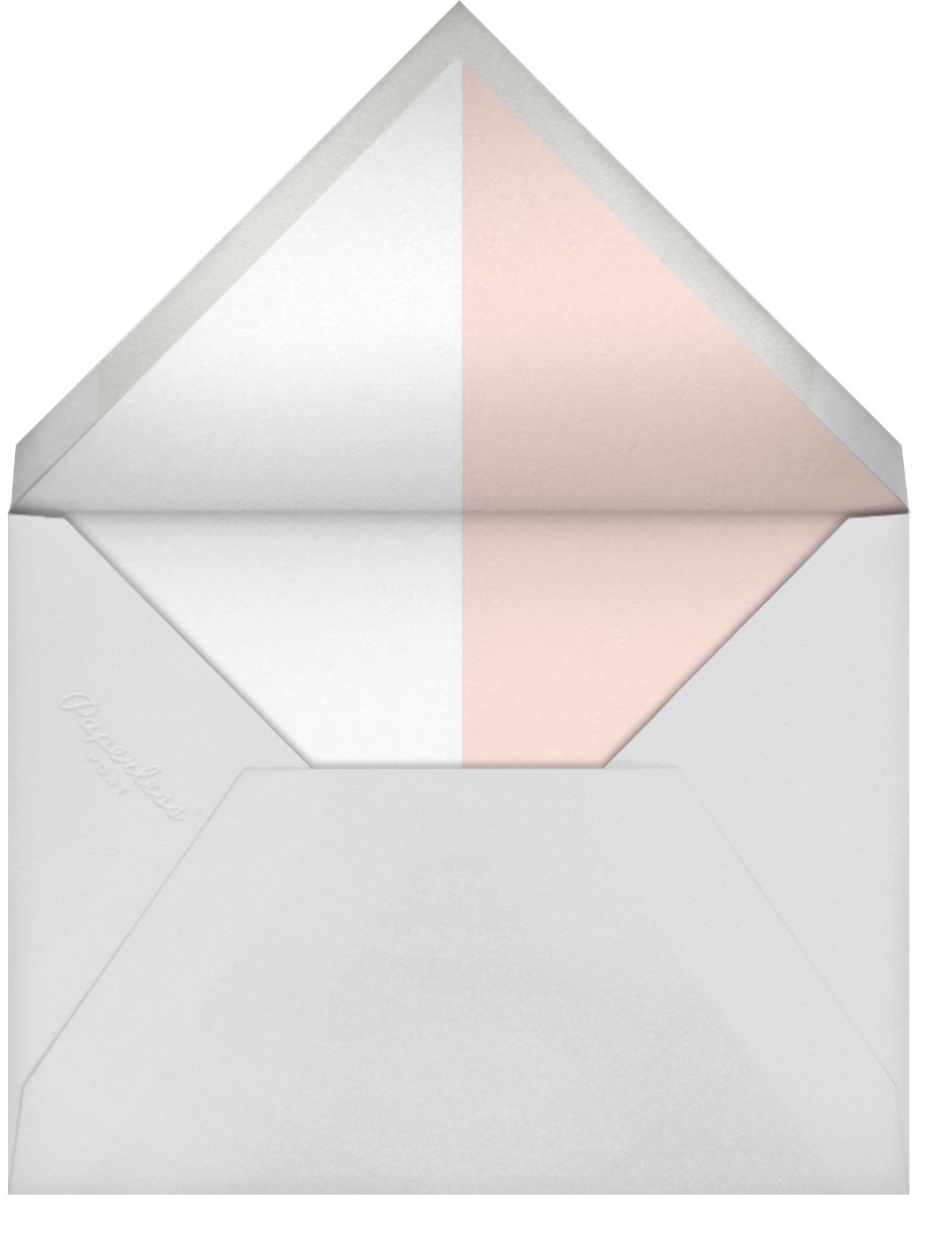 Burgoyne (Invitation) - Meringue/Rose Gold - Paperless Post - All - envelope back