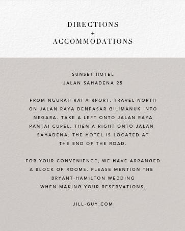 Burgoyne (Invitation) - Oyster/Gold - Paperless Post - Printable invitations - insert front