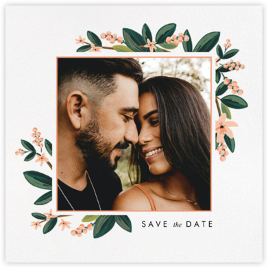 November Herbarium (Photo Save the Date) - Rifle Paper Co. - Rifle Paper Co. Wedding
