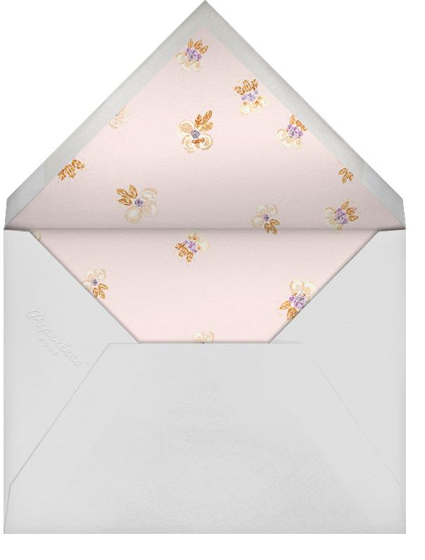 Petal Cascade (Invitation) - Oscar de la Renta - All - envelope back