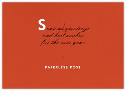 Blood Orange - Horizontal - Paperless Post - Online Cards