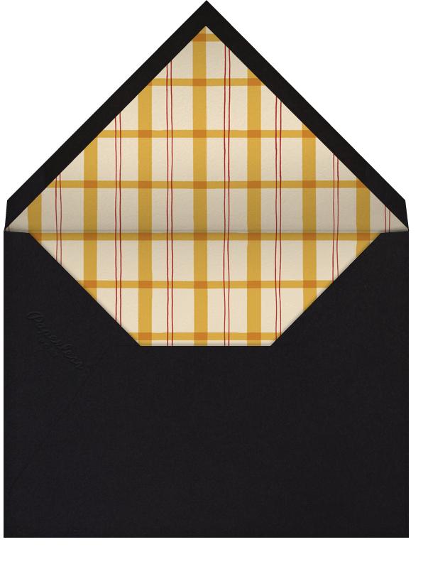 Chalet Shindig - Paperless Post - Winter entertaining - envelope back