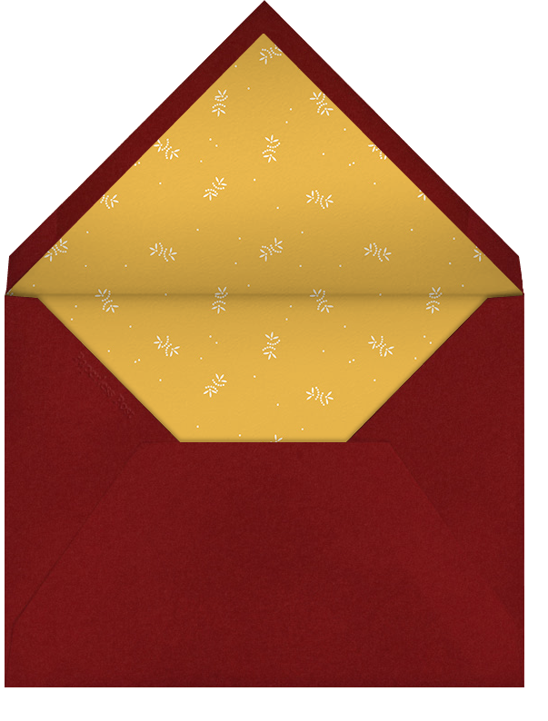 Cardinal (Tall) - Paperless Post - Christmas party - envelope back