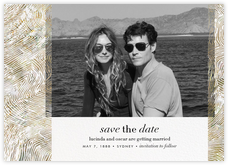 Aria (Photo Save the Date) - Sepia