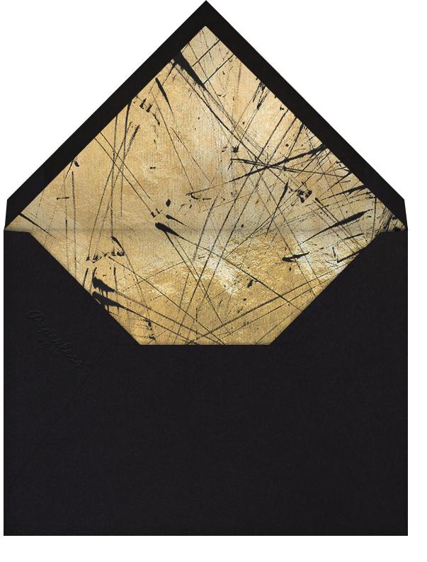 Brink (Invitation) - Black - Kelly Wearstler - All - envelope back